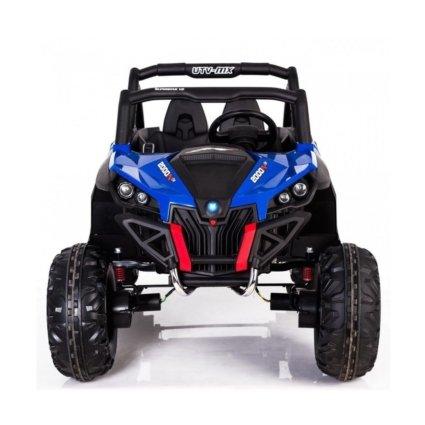 Электромобиль Buggy XMX603 МР4 синий (сенсорный дисплей, 2х местный, полный привод, резина, кожа, пульт, музыка)